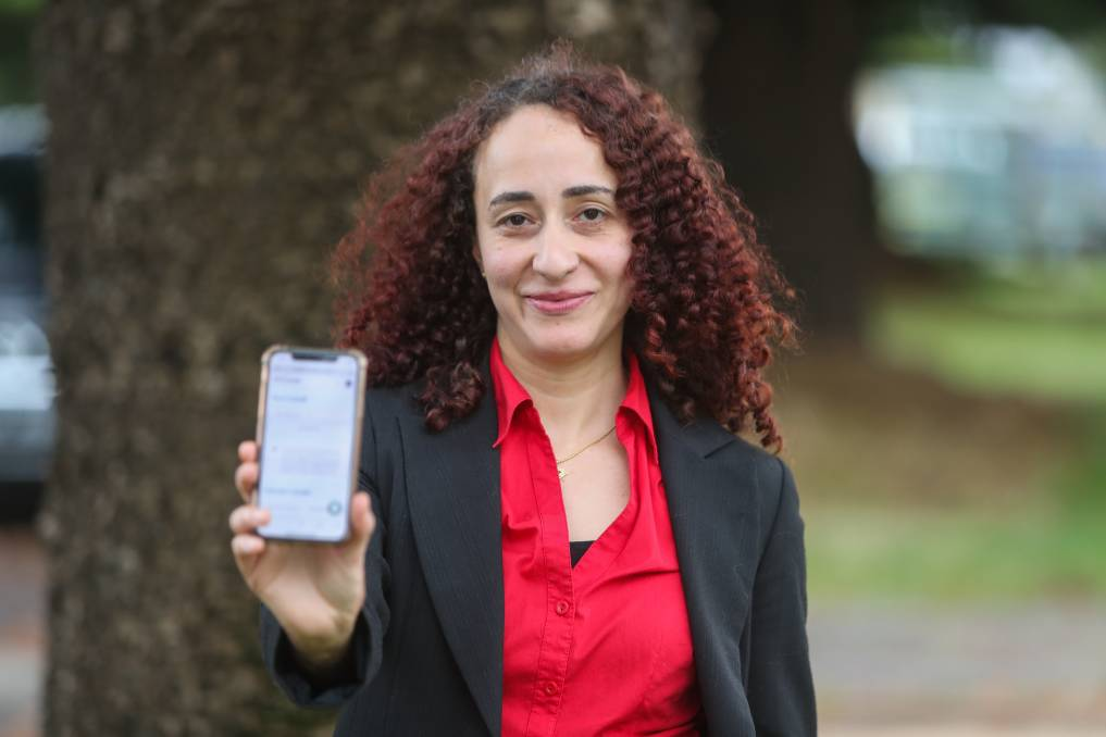 Get checked: Dr. Dina Elhalawani said GPs are available face-to-face, not just via telehealth. Picture: Morgan Hancock