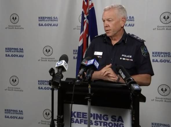 CIRCUIT BREAKER: SA Police commissioner Grant Stevens outlined the new lockdown restrictions for the state.